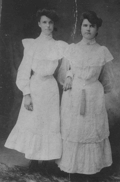 Christina Oregon and Margaret Jane Hagin