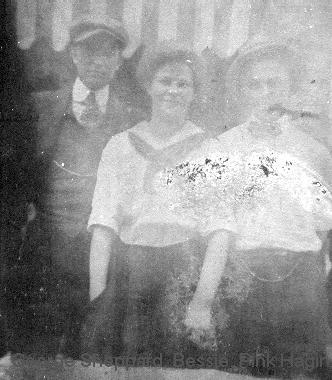 George and Bessie Hagin Sheppard and Pink Hagin