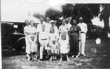John Richard Westberry Hagin Family C 1934