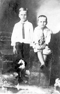 Henry and Wesley Hagin C 1914