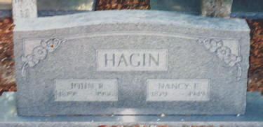 John Richard and Nancy Hendrix Hagin