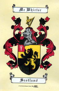 McWhorter Coat of Arms