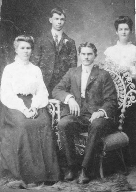 Oscar & Ethel Hagin, Emma and Orchie